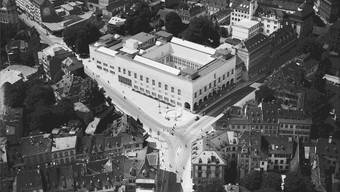 Luftaufnahme des 1936 neu errichteten Kunstmuseums.