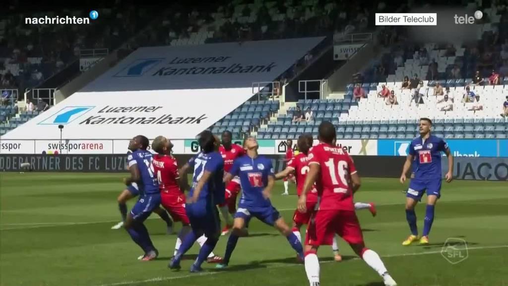 Der FCL überzeugt gegen Thun mit einem klaren 3:0-Sieg