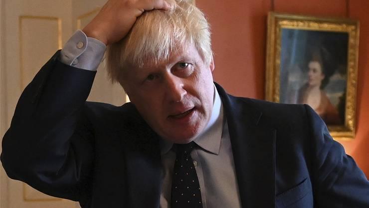 Muss nun auch Abgänge in der eigenen Partei verkraften: Premier Boris Johnson.Bild: Daniel Leal-Olivas/AP (London, 2. September 2019)
