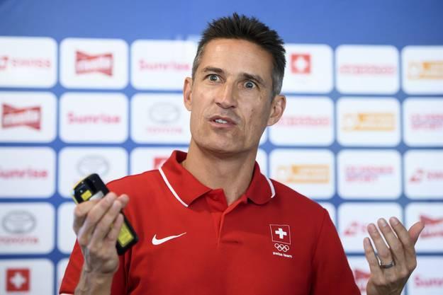 Olympiaarzt Patrik Noack.