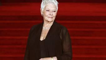 """Dem Kinopublikum ist Judi Dench vor allem als """"M"""" aus den """"James Bond""""-Verfilmungen bekannt. (Archivbild)"""