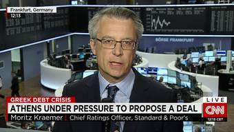 In der Eurokrise rissen sich die internationalen Medien um ihn: Moritz Kraemer.