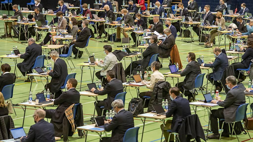 Der Luzerner Kantonsrat ist gegen Heizpilze. (Archivaufnahme)