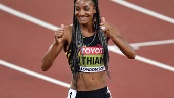 Ist sich das Siegen gewohnt: Nafissatou Thiam