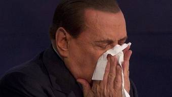 Silvio Berlusconi leidet an einer Augenentzündung (Archiv)