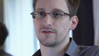 Edward Snowden im Juni 2013 in Hong Kong (Archiv)