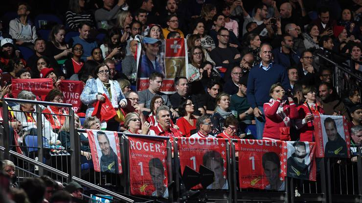Die Unterstützung ist Federer gewiss. Auch in London steht die Mehrheit der Zuschauer hinter ihm.