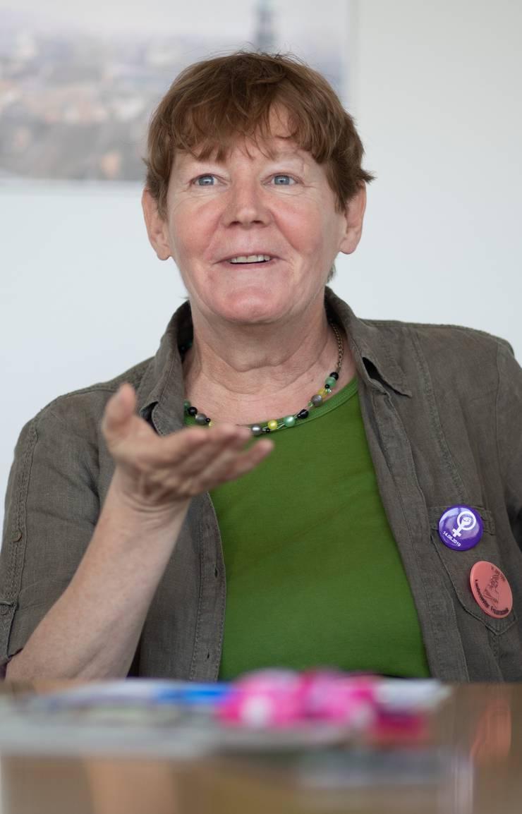 v.l.: Barbara Wyss Flueck, Jacqueline Ehrsam