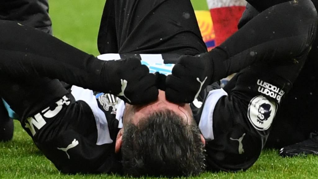 Fabian Schär verletzte sich im Spiel gegen Southampton.