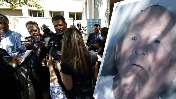"""Die Polizei in Kalifornien hat nach eigenen Angaben den """"Golden State Killer"""" nach jahrzehntelangen Ermittlungen gefasst."""