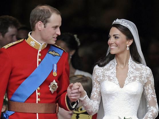 Sagten vor zwei Jahren Ja: William und Kate