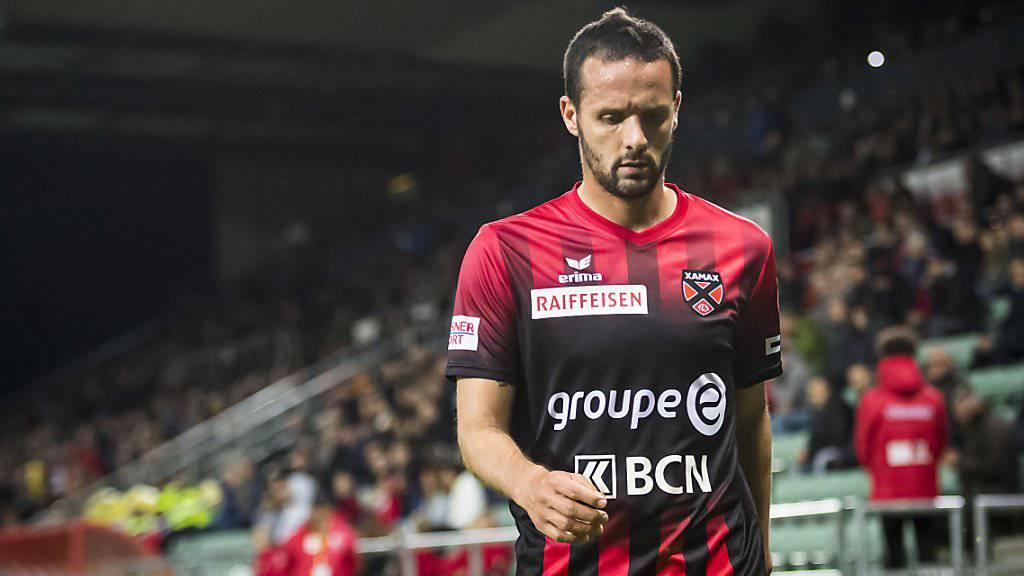 Xamax-Topskorer Raphael Nuzzolo bleibt bei seiner Rückkehr nach abgesessener Sperre wirkungslos