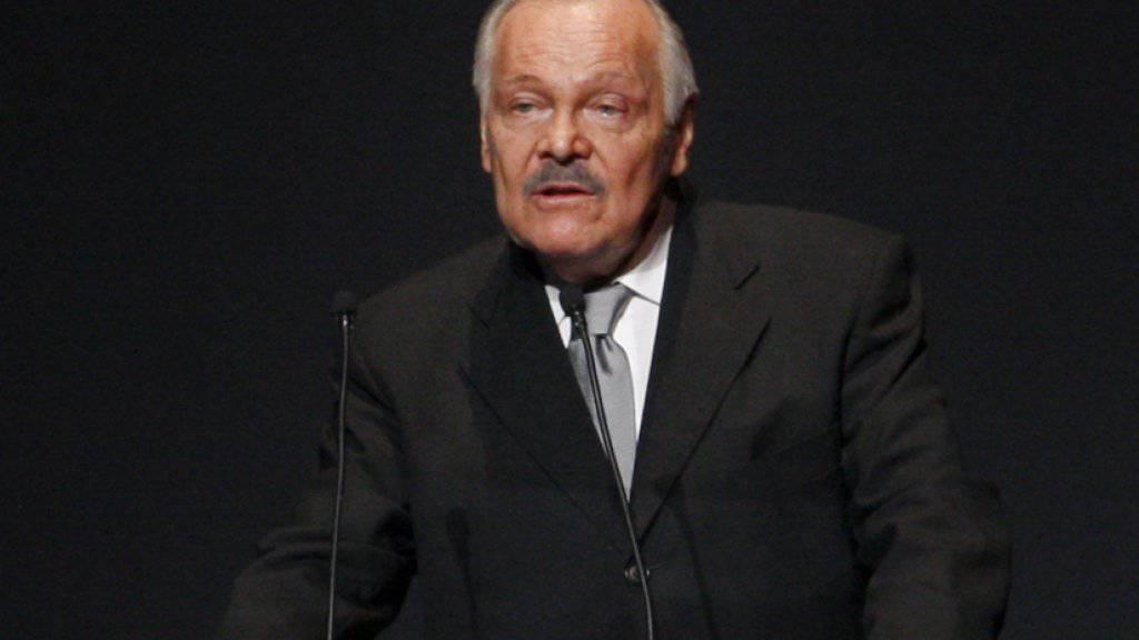 Der mexikanische Maler, Bildhauer und Autor José Luis Cuevas ist tot. (Archivbild 2009)