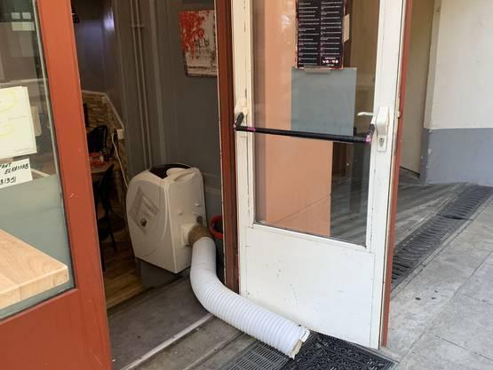 Viele kleine Geschäfte in Genf leiden unter der Corona-Krise, da vor allem die Touristen als Klientel wegbleiben. Hinzu kommt nun die Hitzewelle.