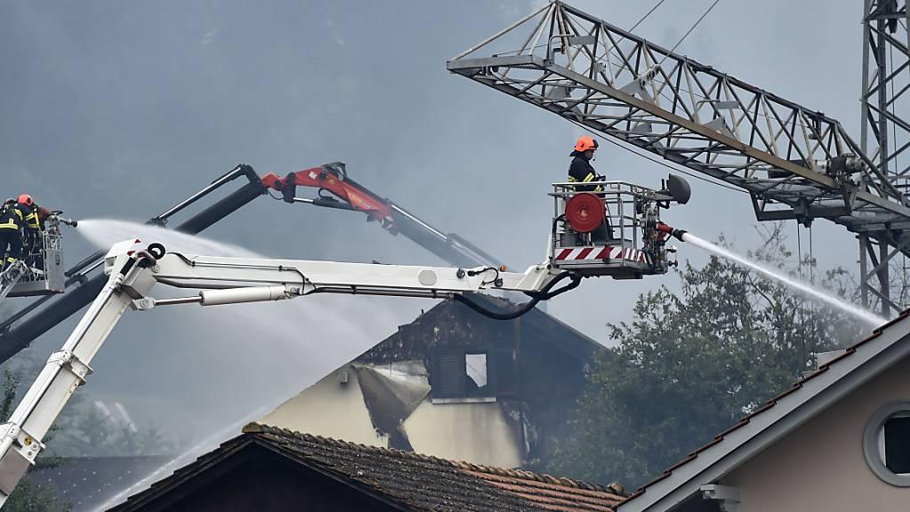 In Graubünden brannte es 2020 weniger als erwartet.