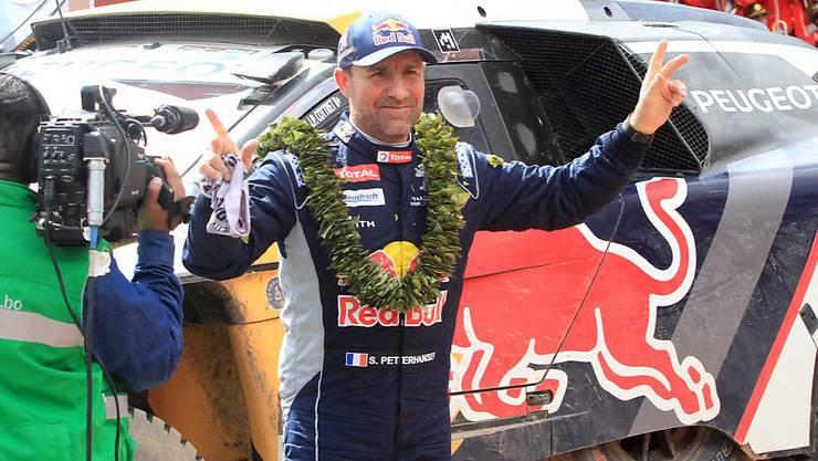 Stéphane Peterhansel feiert bereits seinen 13. Sieg beim Dakar-Rallye