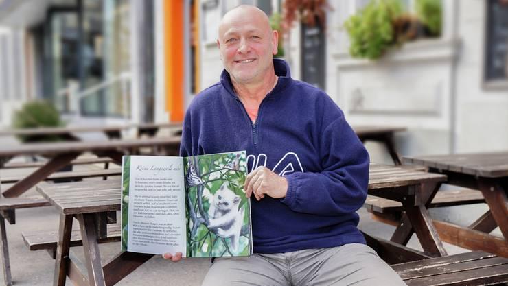 «Das rosarote Herz» ist Kurt Leo Freudemanns erstes Kinderbuch. Das nächste erscheint im Frühling.
