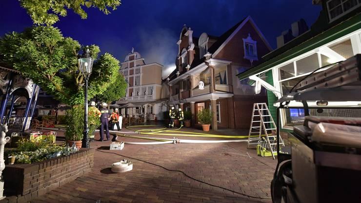 Der Brand im Europapark wurde durch einen technischen Defekt ausgelöst.
