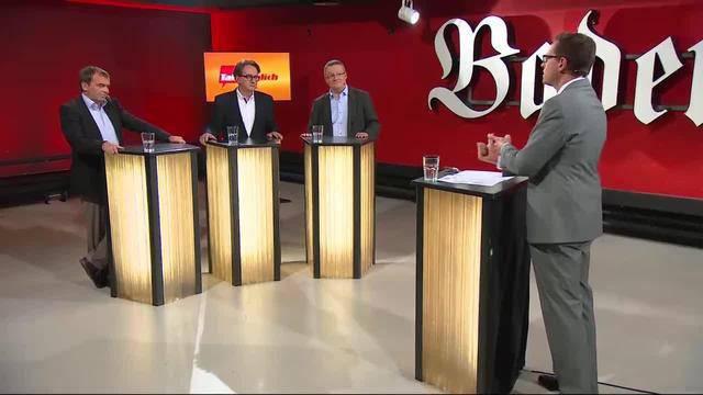 Stadtrats-Wahltalk in Baden