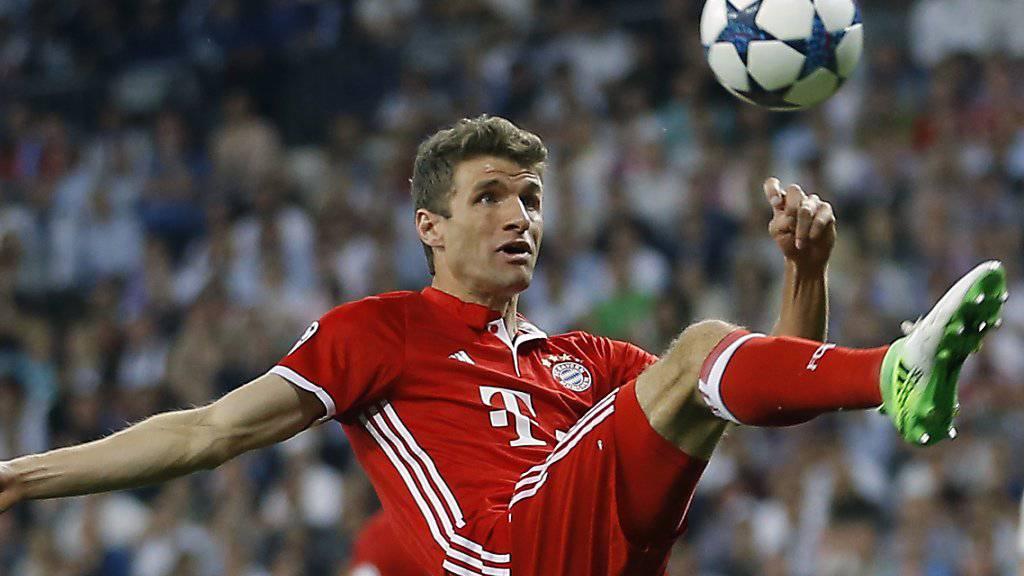 Will wieder eine grössere Rolle spielen: Bayern-Star Thomas Müller