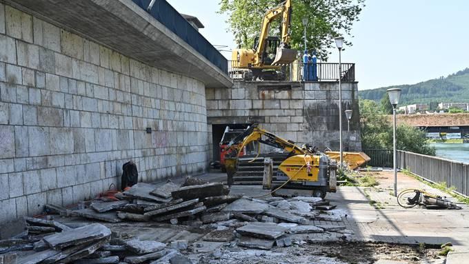 Bahnhofterrasse in Olten wird saniert