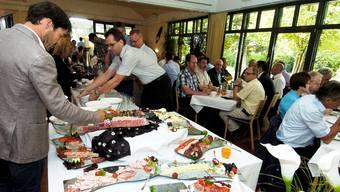 Themen am WFZ-Frühstück im Quellen-Höfli waren die Herausforderungen und Chancen für das Zurzibiet.