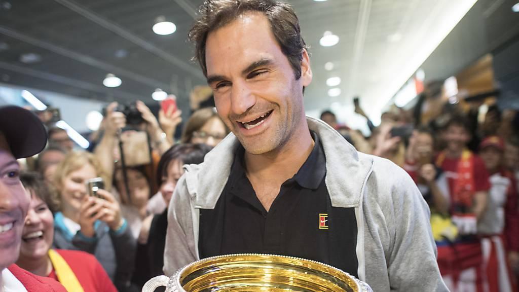 Nadal ist Federer hart auf den Fersen