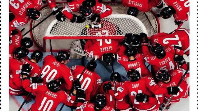 Eine eingeschworene und homogene Truppe: Die Schweizer Eishockey-Nationalmannschaft.