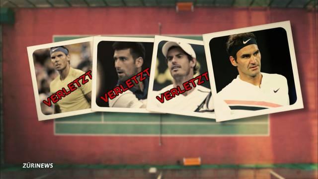 Roger Federer so frisch wie kein anderer