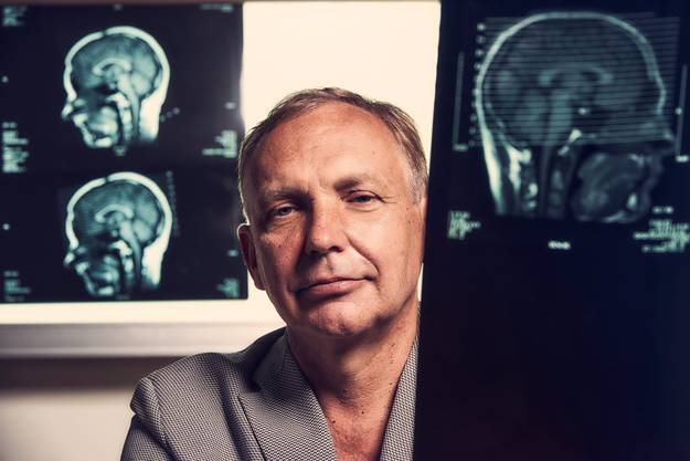Hennric Jokeit, Gehirnforscher und Künstler.