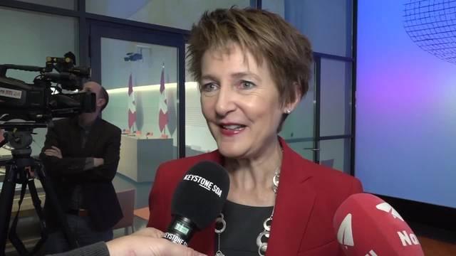 Simonetta Sommaruga: «Das Uvek war mein Wunschdepartement, weil ...»