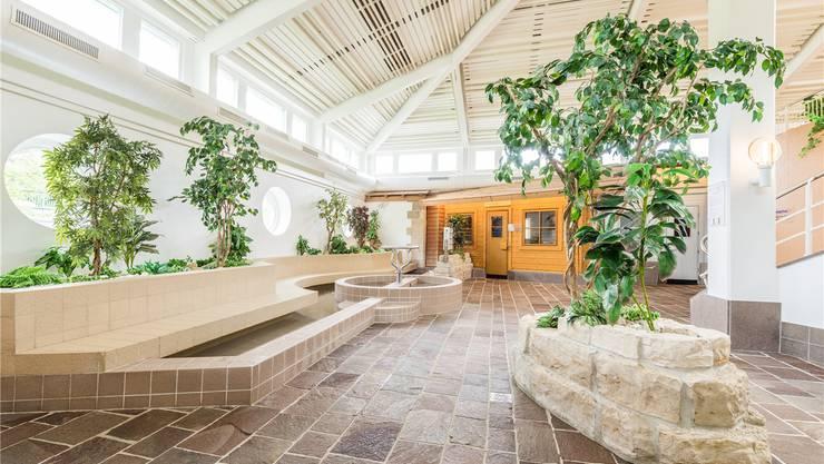 In der Saunalandschaft im Bad Schinznach sollen sich Frauen unwohl gefühlt und das Geld zurückgefordert haben.ZVG/Dominik Golob