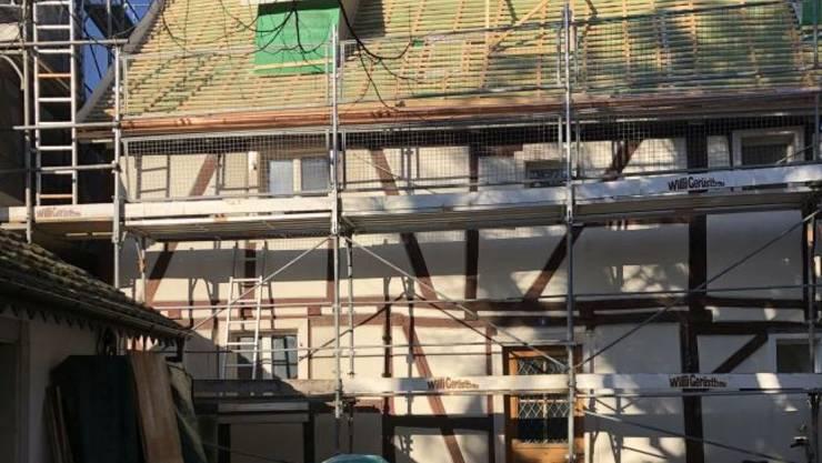 Der Unterhalt von kantonalen Kulturdenkmälern, wie hier ein Riegelhaus in Allschwil, soll im Baselbiet weiter subventioniert werden können.
