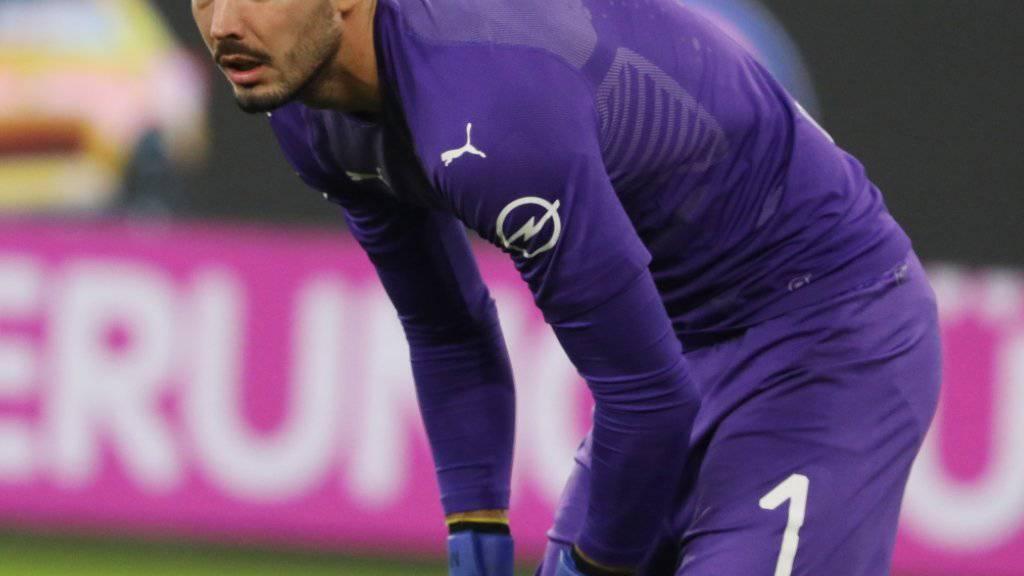Roman Bürki musste sich mit Dortmund in der laufenden Bundesliga-Saison erstmals geschlagen geben