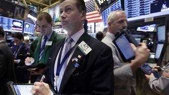 Händler an der Wall Street (Archivbild)
