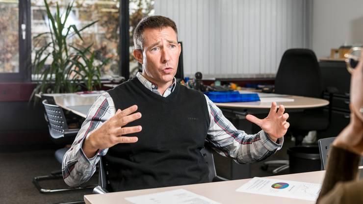 Er leitet seit 15 Jahren das Betreibungs- und Gemeindeammannamt Geroldswil-Oetwil-Weiningen in Geroldswil.