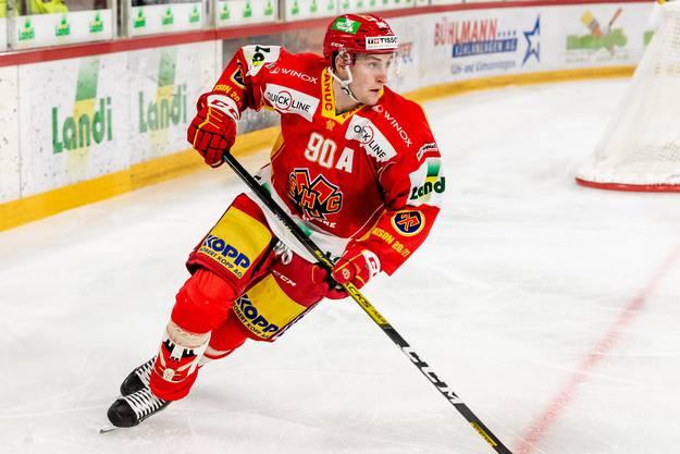 Biels Verteidiger Janis Moser (20) startete stark in die Saison.