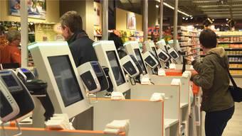 Alle Self-Scanning-Kassen der Migros sind aktuell ausser Betrieb.