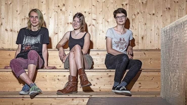 Die Köpfe hinter «2050»: (v. l.) Annina Deubelbeiss, Jessica Barthel und Susanne Meyer.