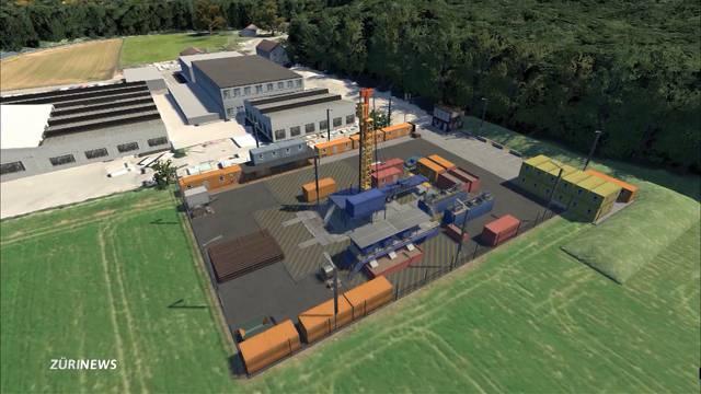 Radioaktiver Abfall: Tiefenbohrungen in Bülach gestartet