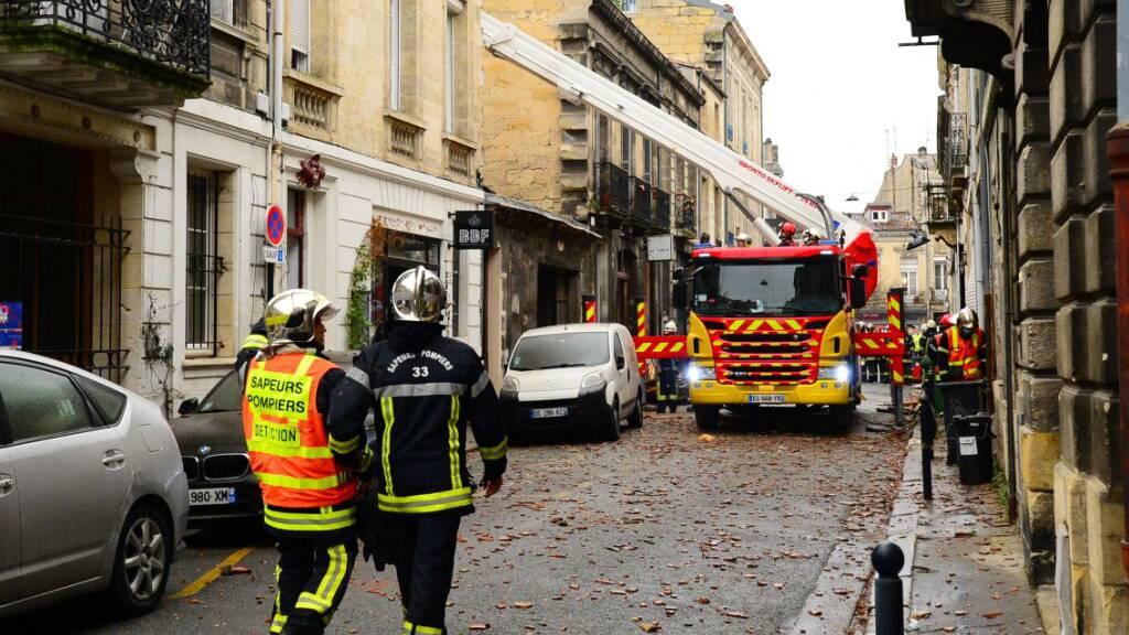Leiche nach Explosion in Bordeaux unter Trümmern gefunden