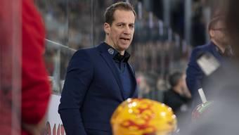 Cheftrainer Antti Törmänen hatte die Bieler Mannschaft auch im Heimspiel gegen Lausanne im Griff