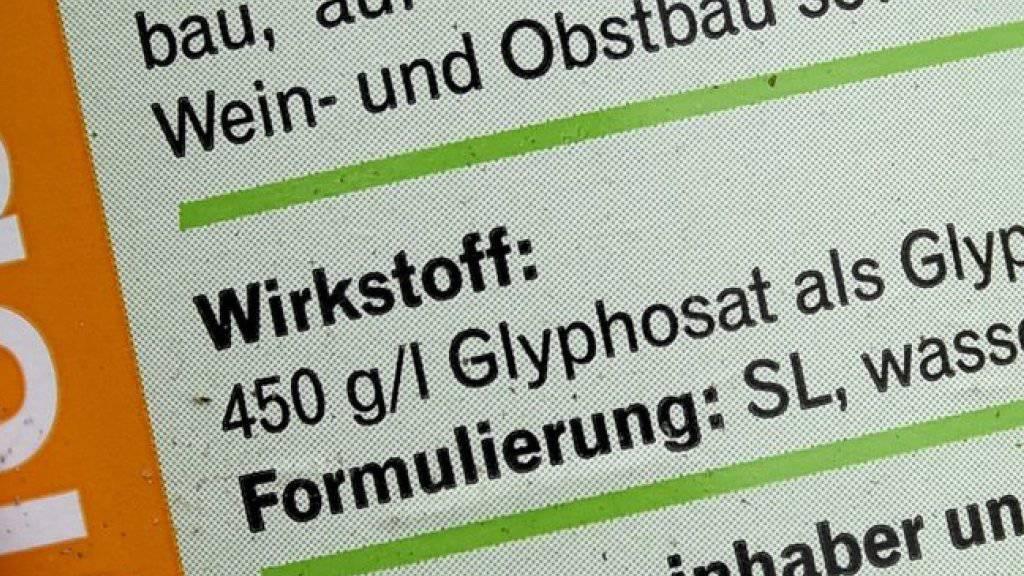 Der Nationalrat will Klarheit bei Glyphosat. Er hat den Bundesrat dazu aufgefordert, die Auswirkung des Herbizids auf Mensch, Tier und Umwelt in der Schweiz zu untersuchen.