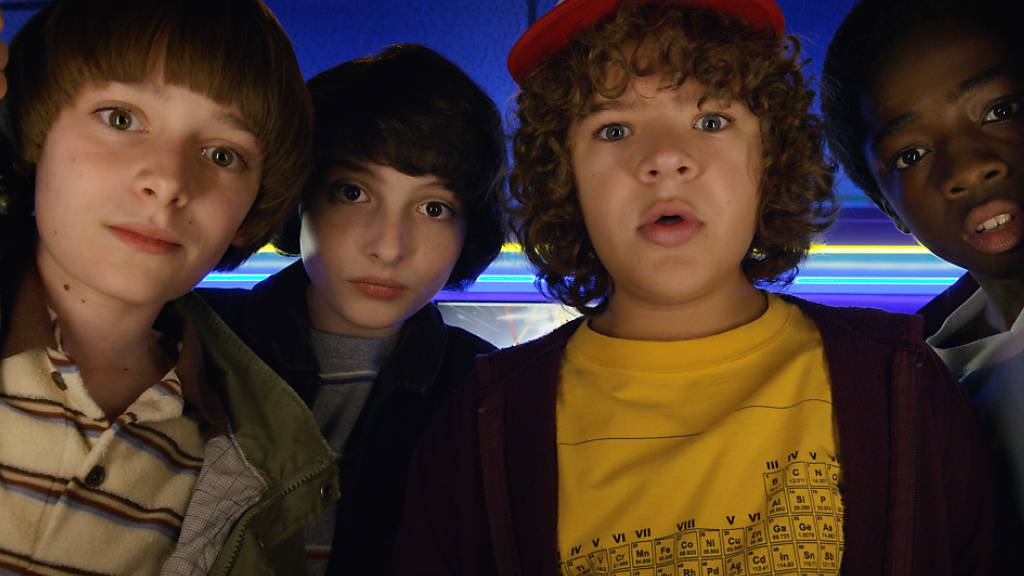 Szenenbild aus der Netflix-Hitserie «Stranger Things», zu der der Streaming-Riese im Juli eine dritte Staffel veröffentlicht hat.