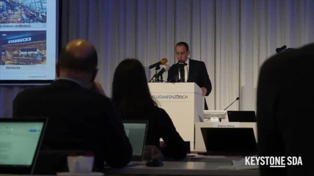 """CEO des Flughafens Zürich: """"Wir haben einen deutlichen Einbruch der Zahlen"""""""