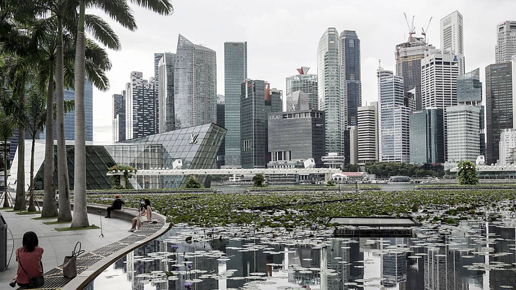 Die Handelsnation Singapur hat schwer unter der Corona-Pandemie gelitten. (Archivbild)