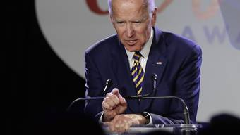 Joe Biden, 77, Stotterer, Ex-Vizepräsident und neuer Frontrunner der Demokraten. (Bild: Keystone)