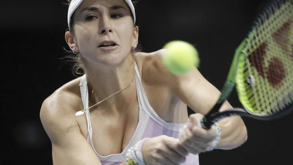 Belinda Bencic bekundet in Dubai nach perfektem Start Probleme
