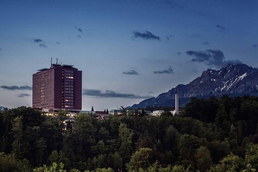 Das Kantonsspital Luzern