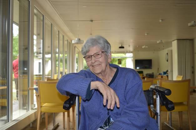 «Ich finde es traurig, aber wir haben grosses Glück gehabt, dass niemand zu Schaden gekommen ist»: Mirjam Kleiner  Bewohnerin des Alterszentrums Blumenheim.